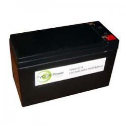 Tycon Power Systems - TPBAT12-9 - 12v 9ah Agm Sla Battery. 5.94 X 2.56 X 3