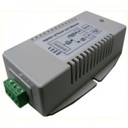 Tycon Power Systems - TP-DCDC-2456G-VHP - Tycon Power TP-DCDC-2456G-VHP PoE Injector - 24 V DC Input - 56 V DC, 1.25 A Output - Ethernet Input Port(s) - Ethernet Output Port(s) - 70 W