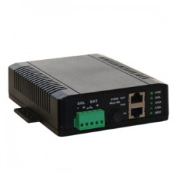 Tycon Power Systems - TP-SCPOE-2448-HP - Tycon Power POE/Solar Dual Input 24V /48V POE 60W Battery Charge Control