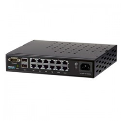 Netonix - WS-12-250-AC - 12 Port Managed PoE Switch AC 250W