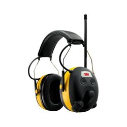 3M - 3ME1063 - 90541-4DC Digital WorkTunes Hearing Protector and AMFM Stereo Radio with Voice Assist