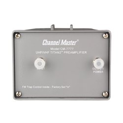 Channel Master - 7778 - TITAN 2TM Mast Mounted Preamp - UHF/VHF