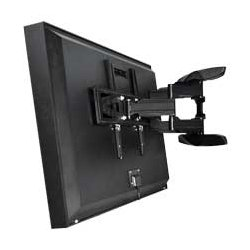 Apollo - APO1001 - Articulating Dual Arm Wall Mount for ALL Enclosures over 50 (Black)