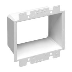 Arlington Industries - ARLBE2 - BE2 Non-Conductive Box Extender Double Gang (White)