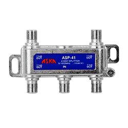 Aska Communication - ASK1015 - ASP-41 D.A. 4 way Splitter