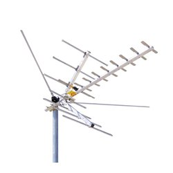 Channel Master - 2000 - Channel Master CM2016 Digital Advantage HDTV VHF High Band and UHF Outdoor Antenna (45 Miles)