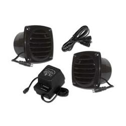 Cool Components - COOL2013 - Cool Components PK-CV1-BLK Cabinet Vent Fan Package w Power Supply (Black)