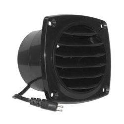 Cool Components - COOL2019 - Cool Components VS-CV-BLK Cabinet Vent Fan (Black)