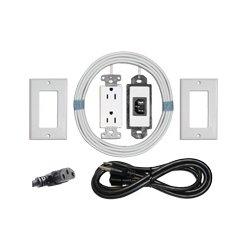 Midlite - MID2021 - PJW-7R Power Jumper HDTV Power Relocation Kit (White)