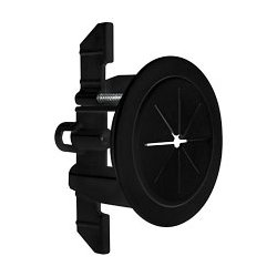 Midlite - MID2024B - R1SP-B Speedport 2 Universal Cable Pass Thru & Wall Anchor System (Black)