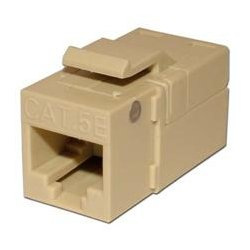 Platinum Tools - PLA1017 - 705IV-1 EZ-SnapJack for Cat5e Keystone Jack Ivory (each)