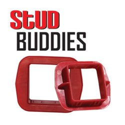Rack-A-Tiers - RAC1030 - Rack-A-Tiers SB400 Stud Buddies Square 1-38 (Bag of 100)