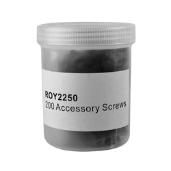Royal Racks - ROY2250 - Royal Racks Jar of 200 Accessory Screws
