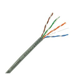 Skyline Cable - SKL1000G - Contractor Grade Cat5e 8-Conductor Cable 24 AWG w REELEX Box (1000 ft 350MHz Gray)