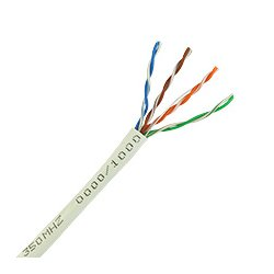 Skyline Cable - SKL1000W - Contractor Grade Cat5e 8-Conductor Cable 24 AWG w REELEX Box (1000 ft 350MHz White)