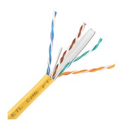 Skyline Cable - SKL1478 - Cat6 8-Conductor Cable 550MHz 1000ft Nest in Box (Yellow)