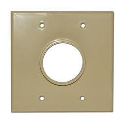 SkyWalker - SKY05078ID - Signature Series Dual Gang Wall Plate with 1-34in opening (Ivory)