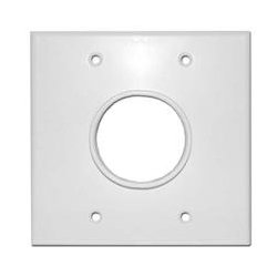 SkyWalker - SKY05078WD - Signature Series Dual Gang Wall Plate with 1-34in opening (white)