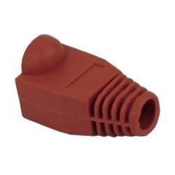 SkyWalker - SKY20892R - Signature Series Red Boot for RJ-45 Connector qty100