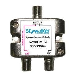 SkyWalker - SKY23504 - Signature Series Diplexer For Dish Pro DC sat side only