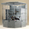 Clearsonic - MP - MegaPac 7x8x7 Sound Isolation Booth - Dark Gray