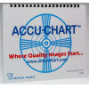 Accu-Chart - AC-CR-BSTK - Color Reference Test Chart - Bstock (Cosmetic Scratches)