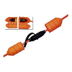 Angel Guard - 5007 ORANGE - Cord Connect Watertight Cord Lock - OSHA Orange