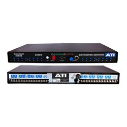 DaySequerra - DA2016-1 - ATI Dual 1X8 DA Metered Plus-22dBm Transformer Output