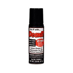 CAIG Labs - D100S-2 - DeoxIT D-Series Contact Cleaner & Rejuvenator, 57g Spray