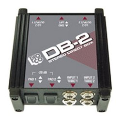 ProCo Sound - DB-2 - Pro Co DB2 Passive Two-Channel Stereo Direct Box