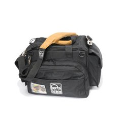 PortaBrace - CAR-3 - PortaBrace Cargo Camcorder Case - Top-loading - Handle, Shoulder Strap - 3 Pocket - Cordura - Black