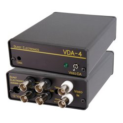 Burst Electronics - VDA-4 - Burst 1x4 Video Distribution Amplifier