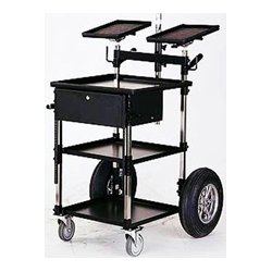 Magliner - TR-01 8 - Backstage Video/Sound Transformer Cart with 8in Wheel Kit