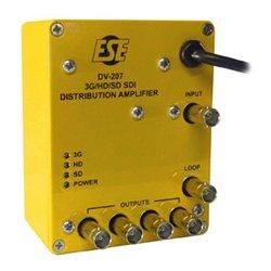 ESE - DV 207-J - DV-207 1x4 3G/HD/SD SDI Reclocking DA w/220VAC/50 Hz Operation