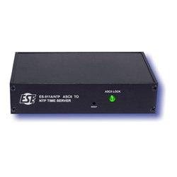 ESE - ES 911E/NTP P - ES 911E/NTP ASCII To NTP Time Server with Option P Rackmount