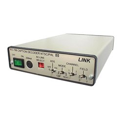 Link Electronics - IEC-788/R - Link Electronics Closed Caption Decoder - PAL/NTSC & S-Video (Remote)