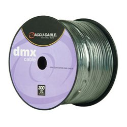 American DJ - AC5CDMX300 - 5 Pin DMX Cable - 300 Foot Spool