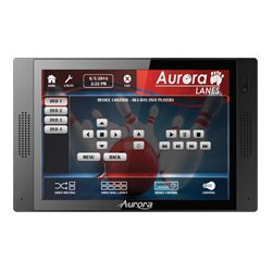 Aurora Multimedia - QXT-700-B - QXT-700 Quad Core IP HD Touch Panel Control System - Black