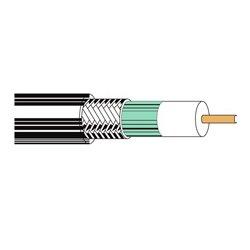 Belden / CDT - 1530A0101000 - Belden 1530A0101000 Twisted Pair Cable - 1 x RJ-45 Male Network - 1 x RJ-45 Male Network - Black