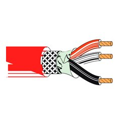 Belden / CDT - 83803 0021000 - 83803 Multi-Conductor Plenum FEP Insultation Cable-1000ft. RED