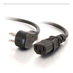 C2G (Cables To Go) / Legrand - C2G-27900 - C2G 27900 1.5 Feet 18 AWG Universal Flat Panel Power Cord (NEMA 5-15P to IEC320C13)