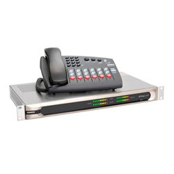 Comrex - 9500-1200 - Comrex STAC6 VIP VoIP Phone System 6-Line System w/ Mainframe Control Surface IP Screening Capability & Cables