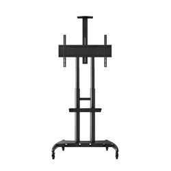 Luxor / H Wilson - FP4000 - Luxor FP4000 Adjustable Height Large TV Mount designed for a 40 - 90 Flat Panel TV