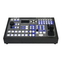 Vaddio - 999-5625-000 - Vaddio ProductionVIEW HD MV Surveillance Control Panel - 12 Controllable Cameras - Pan, Tilt, Zoom Control - 3D Joystick LCD Serial Port - Network (RJ-45) Port