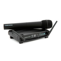 Audio Technica - ATW-1102 - Audio-Technica Handheld Microphone System - 2.40 GHz - 20 Hz to 20 kHz Frequency Response - 98.43 ft Operating Range