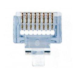 Platinum Tools - 105,004.00 - Platinum Tools EZ-RJ45 Cat 6 Connectors - 500 Pack