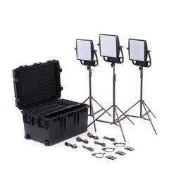 Litepanels - LPAN-935-3005 - 935-3005 Astra 1x1 EP Traveler Trio V-Mount Kit