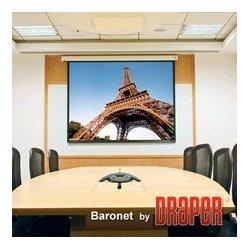 Draper - 129,006.00 - Draper 129006 42.5x56.5 Inch 4:3 NTSC Video Format Matt White Baronet Screen