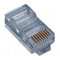 Eclipse Enterprises - 702-008 - 8P8C RJ45 Modular Plug for Flat Stranded Wire 50 Pack