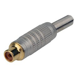 Connectronics - 30-309 - RCA Female Cable End